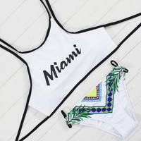 Sexy Swimwear Low Waist Swimsuit for Women Bathing Suit