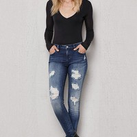 PacSun Oregon Blue Ripped Dreamy Jeggings at PacSun.com