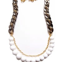 Blurred Lines Necklace