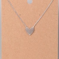 Only Love Necklace - Silver