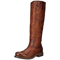 Frye Womens Jenna Leather Inside Zip Riding Boots