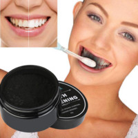 Teeth Whitening Powder Natural Organic Activated Charcoal Bamboo Toothpaste Remove Plaque