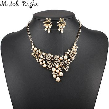Women Necklace Simulated Pearl Statement Necklaces Pendants Trendy Jewelry Necklace Women Accessories