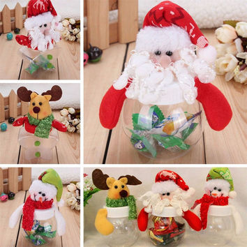 Christmad Candy Box Snowman Cookie Candy Box Christmas New Year Party Decoration Multi Shape Christmas Decoration