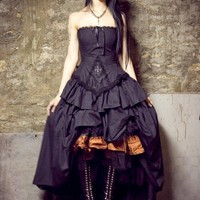 Steampunk Vampire Gothic Lolita Dress
