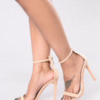 Gets Better With Time Heel - Nude