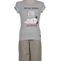 Hello! Spank Short Sleeve T-Shirt
