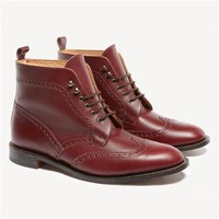 The Forres Brogue Boot | Jack Wills