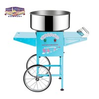 Cotton Candy Machine with Cart Floss Maker Electric 110/220v