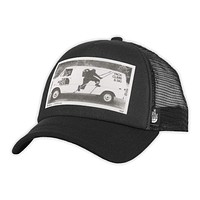 Photobomb Hat in TNF Black Van Print by The North Face