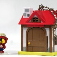 Nintendo Animal Crossing New Leaf House and Figure Ball Chain - Pascal