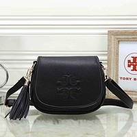 Tory Burch Women Leather Fashion Handbag Crossbody Shoulder Bag Satchel