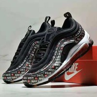 NIKE AIR MAX97 full palm cushion bullets running shoes casual shock sneakers #3