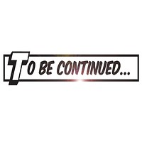 Vinyl Wall Decal To Be Continued Comics Library Book Kids Teen Room Stickers ig6255 (22.5 in X 5.6 in)