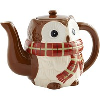 Chilly Billy Owl Teapot