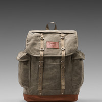 Brixton Canyon Back Pack in Olive