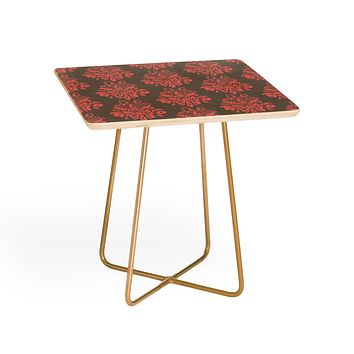 Morgan Kendall pink lace Side Table