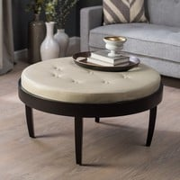 Citation Coffee Table Ottoman with Removable Cushion | www.hayneedle.com