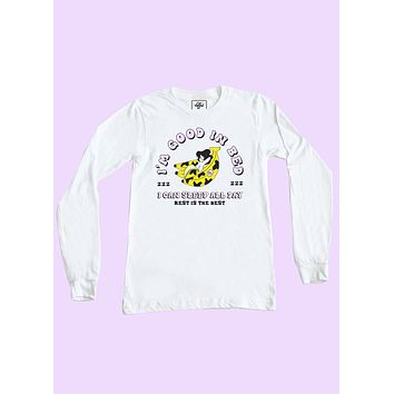 Good In Bed Long Sleeve Top