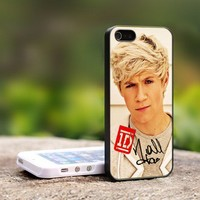 One Direction Nial Horan Signature - For iPhone 5 Black Case Cover