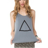 Kay Triangle Embroidery Tank