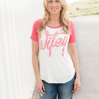 Wifey Raglan Tees - 4 colors