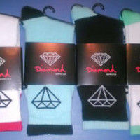 BUY NOW!!! Diamond Supply Co., DMND Crew Socks