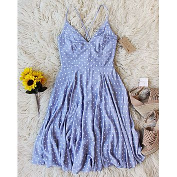 Sunflower Dress in Blue