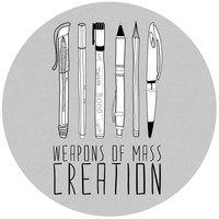 Bianca Green Weapons of Mass Creation Circle Wall Decal