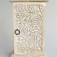 Handcarved Wooden Jewelry Box