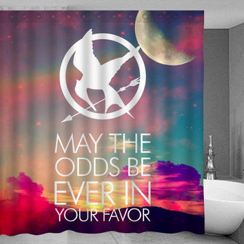 Hunger Games Shower Curtain
