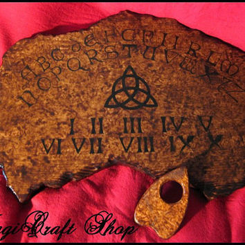 Ouija Board Charmed replica - wicca exorcism witch magic - medium 11.82x15.76 inches