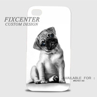 Cute Pug Puppy 3D Image Cases for iPhone, iPod, Samsung Galaxy by FixCenters
