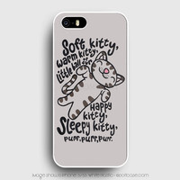Cute Cat Soft Kitty Song iPhone 5s Case, iPhone 5 Cases
