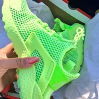 """""""NIKE"""" Trending Fashion Solid color Casual Breathable Sports Shoes"""