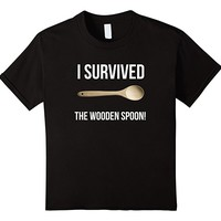 I Survived The Wooden Spoon Spanking Funny T Shirt