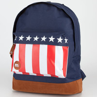 Mi-Pac Usa Flag Backpack Navy Combo One Size For Men 22172721101