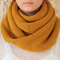 by-(Etsy.KnitScarf)-Knit-Scarf-with-button,-infinity-scarf,-circle-scarf,-loop-scarf-,-knit-infinity-scarf-,-button-scarf,-open-weave-knit-scarf