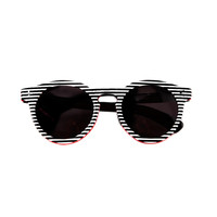 Illesteva Leonard II Striped Sunglasses - ShopBAZAAR