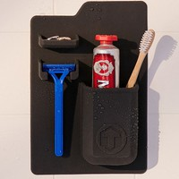 Tooletries Mighty Toothbrush + Razor Holder   Urban Outfitters
