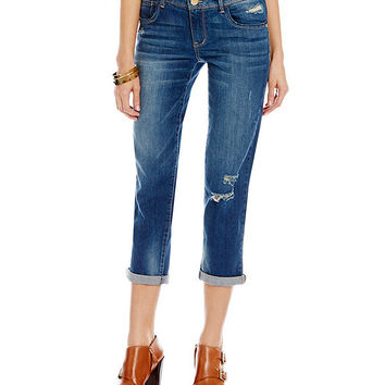 Democracy Destructed Girlfriend Jeans | Dillards