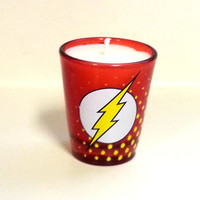 The Flash Soy Candle - Red Shot Glass - CHOICE OF SCENT