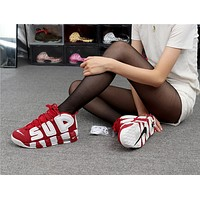 Sup x Air More Uptempo 96 Red White