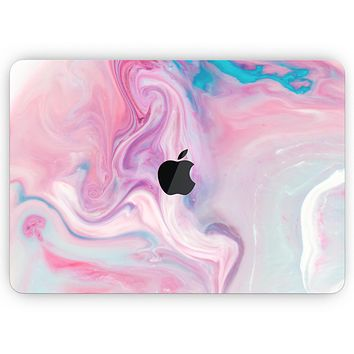 """Marbleized Color Paradise V2 - Skin Decal Wrap Kit Compatible with the Apple MacBook Pro, Pro with Touch Bar or Air (11"""", 12"""", 13"""", 15"""" & 16"""" - All Versions Available)"""