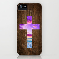 Isaiah 53 - Easter | The cross iPhone Case by Pocket Fuel
