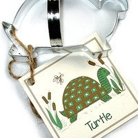 Turtle Max Reptile Gifts :: - Turtles, Sea Turtles :: Turtle Housewares and Bath Supplies :: Big Turtle Cookie Cutter