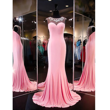 Long Prom Dress Evening Party Gown pst1040