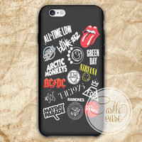 All american band logo iPhone 4/4S, 5/5S, 5C Series Hard Plastic Case