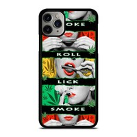 BLUNT ROLL WEED OBE iPhone Case Cover