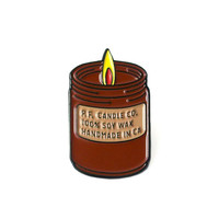 P.F. Candle Co. Enamel Pin